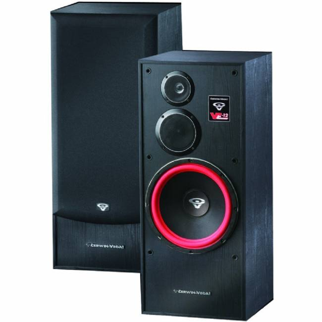 Cerwin Vega VE-12F Floor Standing Speaker 300 Watt Pair