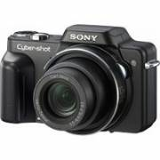 SONY CYBERSHOT DSCH10/B 8.1MP DIGITAL CAMERA W/ 10X OPTICAL ZOOM